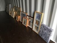 A variety of different pictures for sale. Come along and have a browse through them