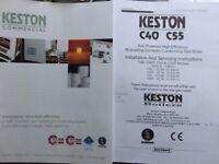 Central heating boiler for sal 40-45 kilowatt output