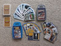 4 TOP TRUMPS CARDS ~ ALL EXCELLENT ~ TOY BUNDLE ~ 2 FASTEST CARS, TRAINS & TOP GEAR 2 COOL CARS