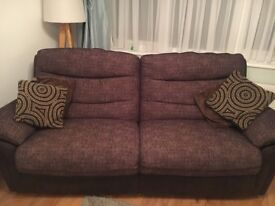 2x sofas for sale