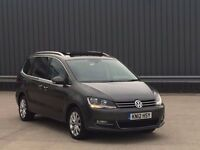 2012 Volkswagen Sharan 2.0 TDI BlueMotion Tech Executive DSG **MEGA SPEC**HIGH MILES**1 OWNER,AUTO