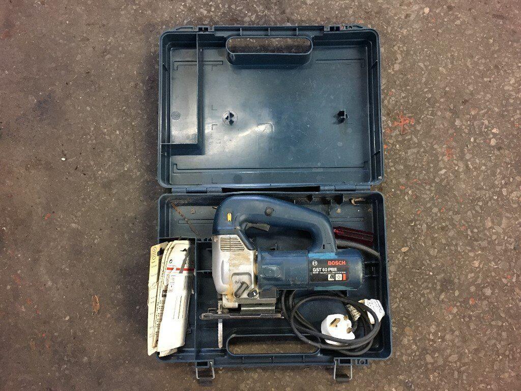 Bosch 240v jigsaw with box