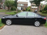 2008 Honda Accord 2.0i Vtec EX, Black, 4 Door Saloon, Auto/Manual, 86,500 Miles, Mot 'till 18/10/18
