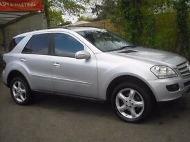 Mercedes ML 280 CDI Sport Automatic one previous owner, low mileage only 54861 miles