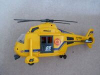 Large Yellow Rescue Helicopter