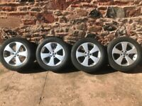 "Vauxhall mokka 17"" alloy wheels and tyres"