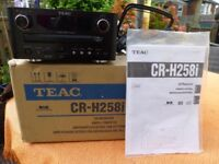 TEAC Radio and CD Player (CR-H258i)