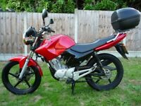 YAMAHA YBR 125 125cc LOW MILEAGE