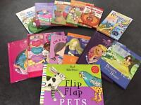 Girls toy and book bundle