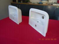 Compact bathroom/cloakroom sink