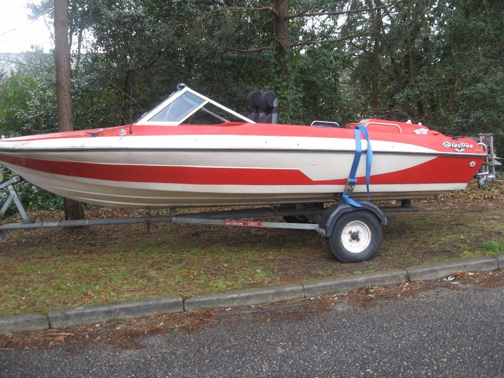 Cheap Used Jet Skis For Sale >> 1970 GLASTRON CLASSIC16 FOOT SPEED BOAT 140 BRAKE HORSE ALFA INBOARD MOTOR PART X | in ...