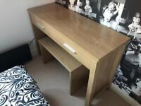 Large Dressing Table and Stool