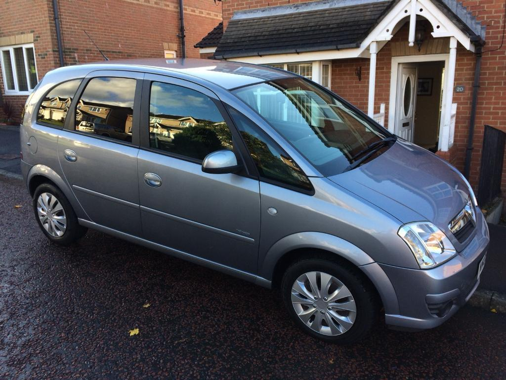 Vauxhall Meriva 1.4 16V LOW MILAGE VERY CLEAN INSIDE and OUT MOT'd ONE LADY OWNER
