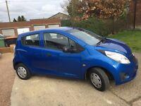 Chevrolet Spark+ 1.0 5 door hatchback, low mileage, tax & insurance. Ideal 1st car
