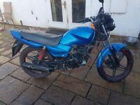 Qingqi 125cc motorcycle