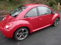 Volkswagon Beetle Luna 102Ps, 1.6 Petrol, 2009 Reg, 12 Months MOT, Low Mileage @55000, Nice Cond w