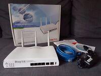 DrayTek Vigor 2820n Wireless Router - ADSL2+ Security Firewall