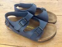 Kids' Birkenstock sandals in blue