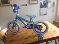 Childs disney bicycle. New