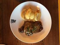 Kitchen Porter opportunities in Ocean Village steak restaurant - 30-40 hours per week