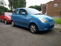 Matiz For sale - Blue Chevrolet Matiz - Great Condition - Air Con - Mileage 35,542