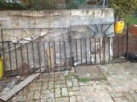Double drive way gates and single gate