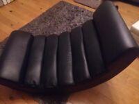 FAB BLACK ROCKER / GAMING CHAIR SIZE XL VGC GRAYS