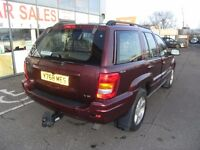 2001 JEEP GRAND CHEROKEE 4.7 V8 LIMITED 5D AUTO 220 BHP **** PART EX WELCOME ****