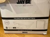Jay-be Folding Bed with Mattress - small double