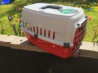 Small pet carrier - used twice.