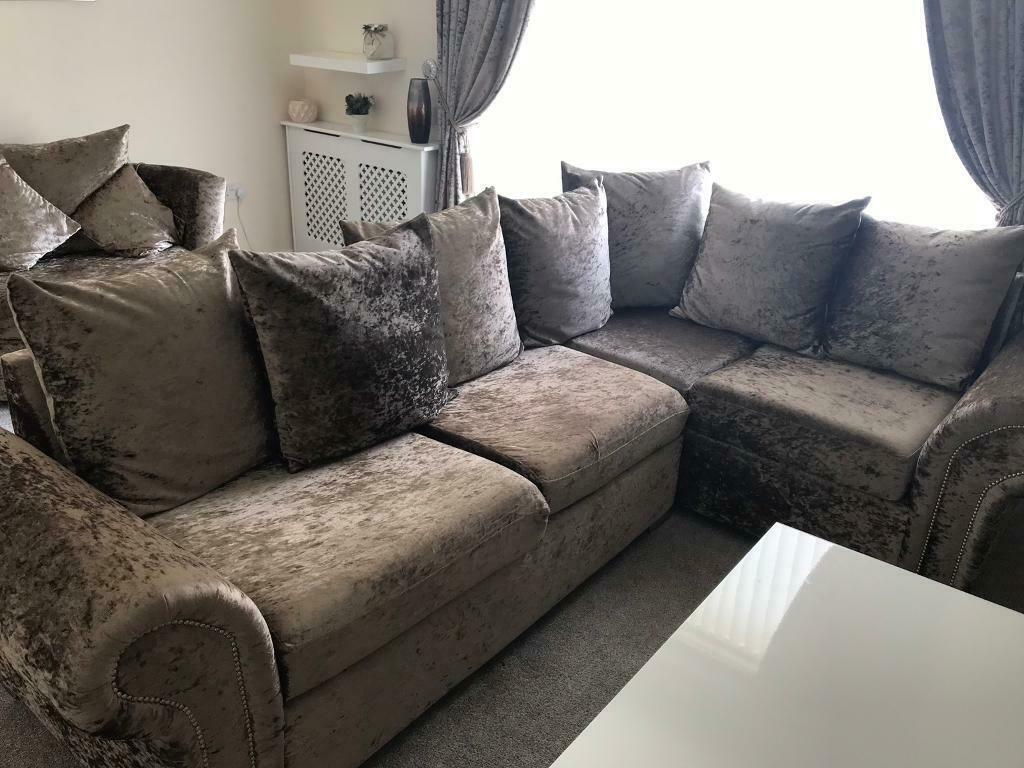newest b2090 924c5 Corner sofa and swivel chair - reduced price | in Kilsyth, Glasgow | Gumtree
