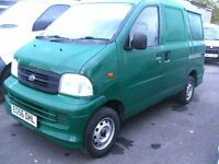 Daihatsu van 1.3 petrol. 39000 miles. 1 local authority owner. central locking cd player. air con.