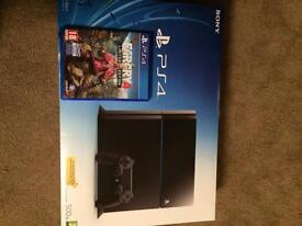 Playstation 4 With additional game