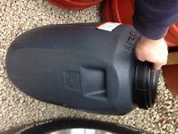 Grey 60 Litre Plastic Screw Cap HDPE Barrels Drum Tank, Brewing Home Brew