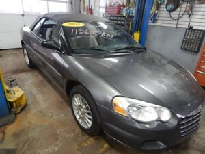 2005 Chrysler Cabriolet Sebring Limited