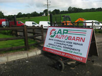 AP AUTOBARN NOW OPEN 150 BUSH ROAD DUNGANNON ALL HYDRAULIC NEEDS AND MUCH MORE
