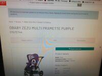 very clean Obaby Zezu MULTI Pramette- Kit And Car Seat £75