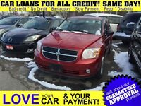 2010 Dodge Caliber SXT * CAR LOANS FOR ALL CREDIT SITUATIONS