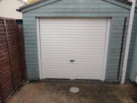 single up & over garage door