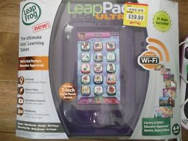 Leap Pad Ultra with Box and Extra Hello Kitty Game