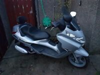 2006 Piaggio X8 250cc Motor Scooter With Secure Padlock