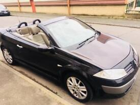 Renault Megane convertible black leather low miles swap px welcome