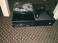 XBOX ONE WITH FIFA 18 AND GHOST RECON SWAP FOR PS4