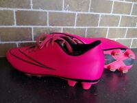 Pink Nike Football Boots