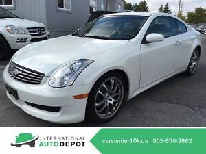 2006 Infiniti G35 SPORT / LEATHER / MOONROOF