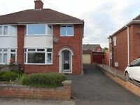 AVAILABLE IMMEDIATELY - Unfurnished, redecorated 3 bedroom semi-detached house. Desirable Area.