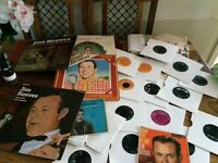 Jim reeves vinyls for sale LP's and 45's