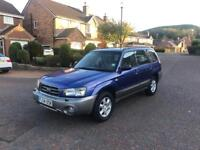 2005 54 SUBARU FORRESTER 2.0 GX 4x4 IDEAL FOR THE WINTER