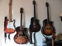 Guitar Collection for sale due to ill health, Gibsons, Fender, PRS. Custom guitars