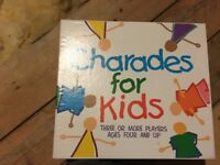 Charades game for kids